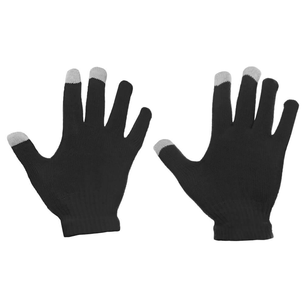 FORCELL Dotykové rukavice na telefon černé