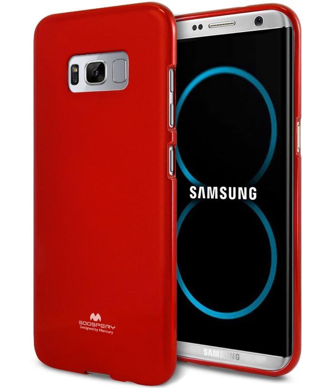 MERCURY JELLY Obal Samsung Galaxy S8 Plus červený