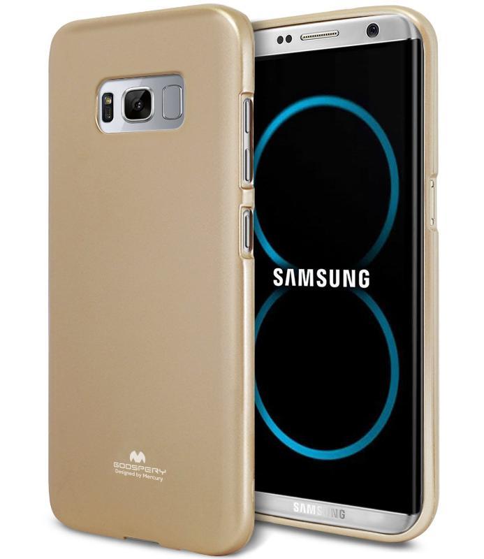 MERCURY JELLY Obal Samsung Galaxy S8 Plus zlatý