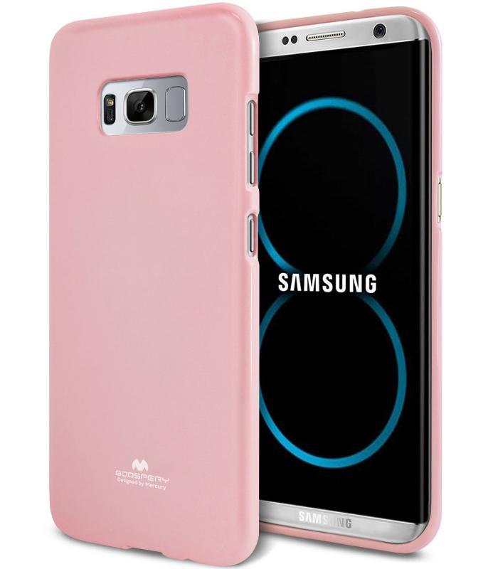 MERCURY JELLY Obal Samsung Galaxy S8 Plus ružový