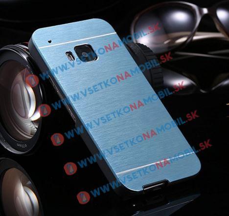 Hliníkový kryt HTC One M9 modrý
