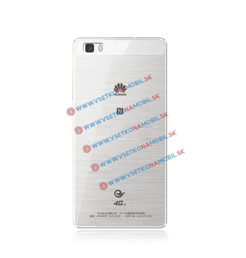 FORCELL Silikónový obal Huawei P8 priehľadný