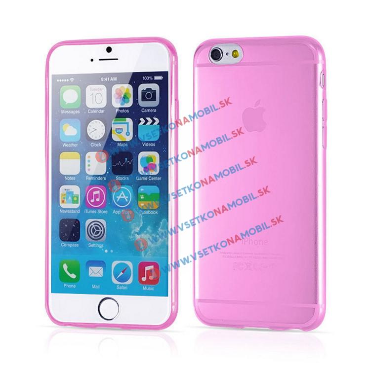 FORCELL Silikónový obal iPhone 6 / 6S ružový