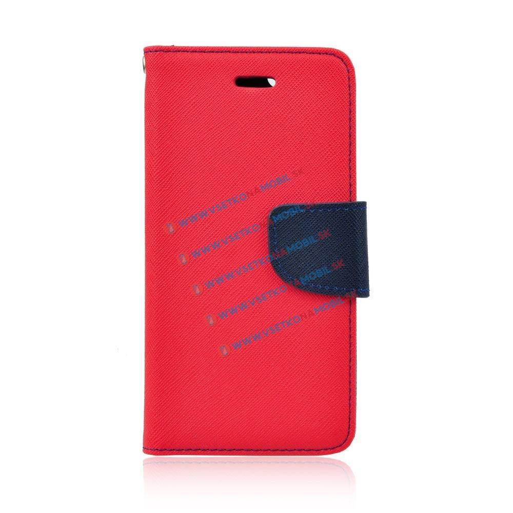 Peňaženkové flip púzdro Lenovo Vibe P1 červené