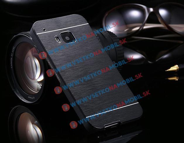 Hliníkový kryt HTC One M9 čierny