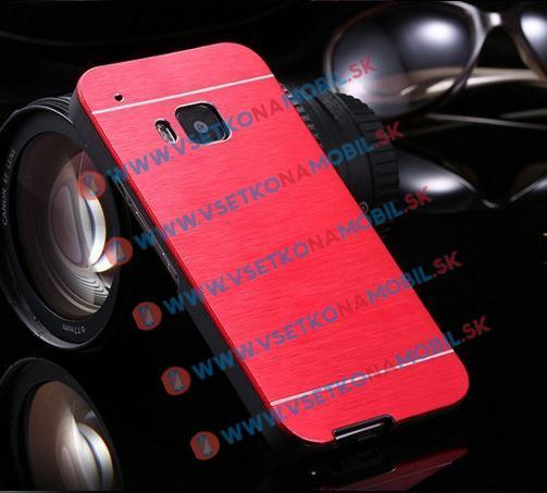 Hliníkový kryt HTC One M9 červený