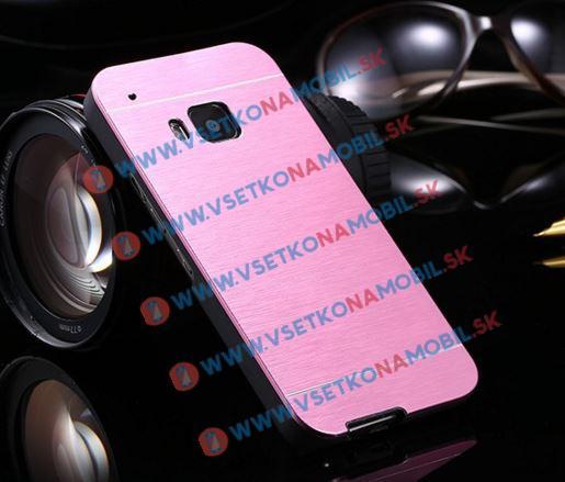 Hliníkový kryt HTC One M9 ružový