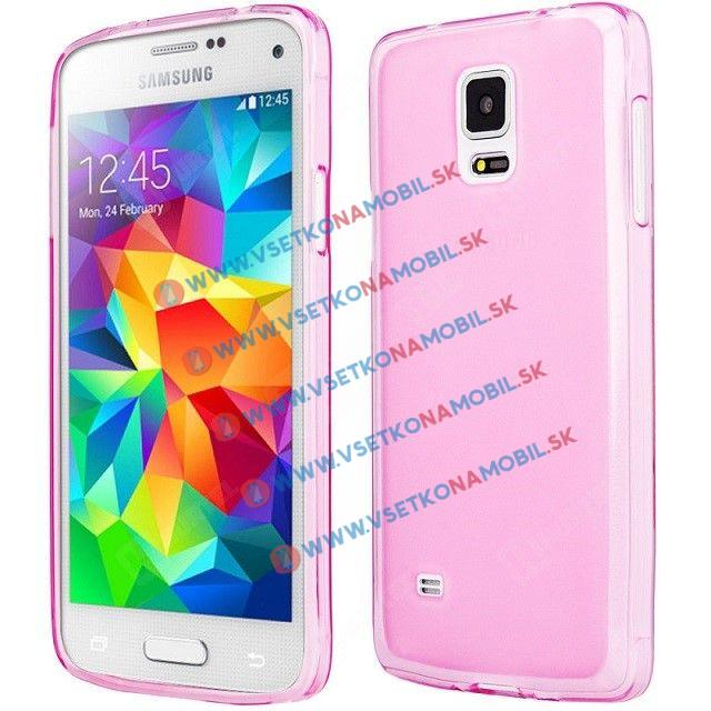 FORCELL Silikonový obal Samsung Galaxy S5 mini růžový