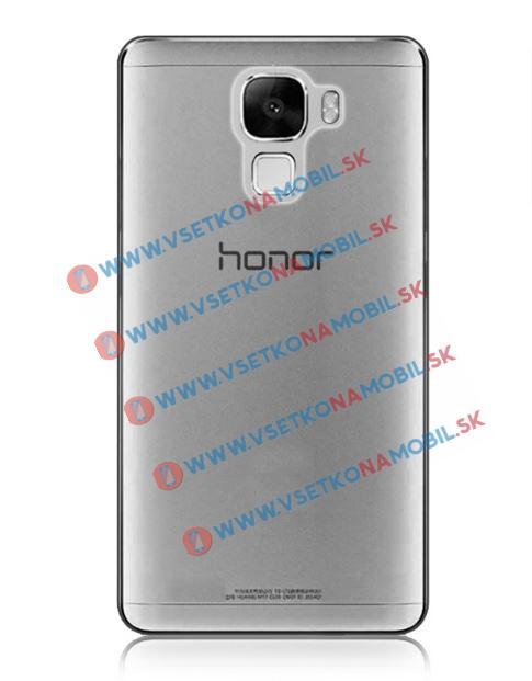 FORCELL Silikónový obal Huawei Honor 7 šedý