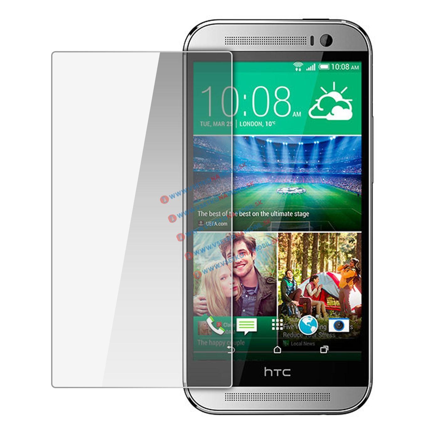 Ochranné tvrdené sklo HTC One M8 / M8s