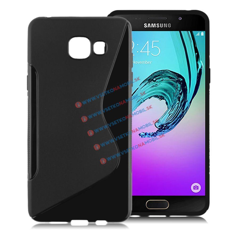 Silikónový obal Samsung Galaxy A5 2016 čierny