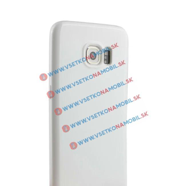 Silikonový obal Samsung Galaxy S7 edge bílý