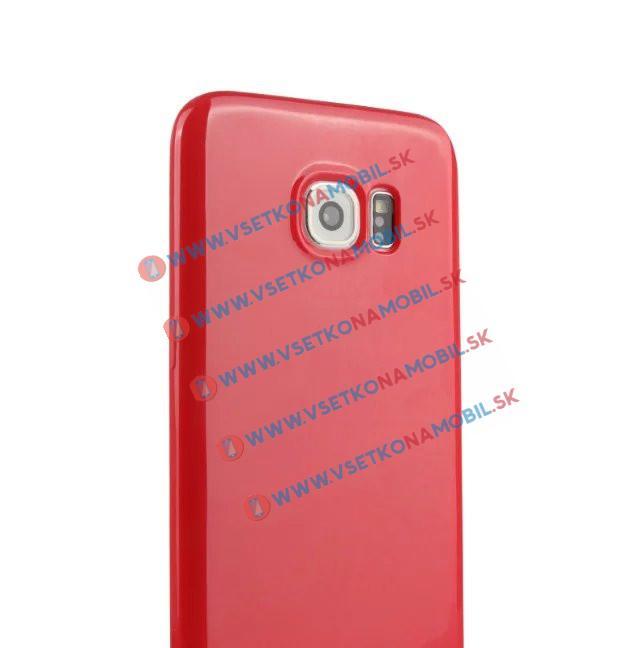 Silikónový obal Samsung Galaxy S7 edge červený