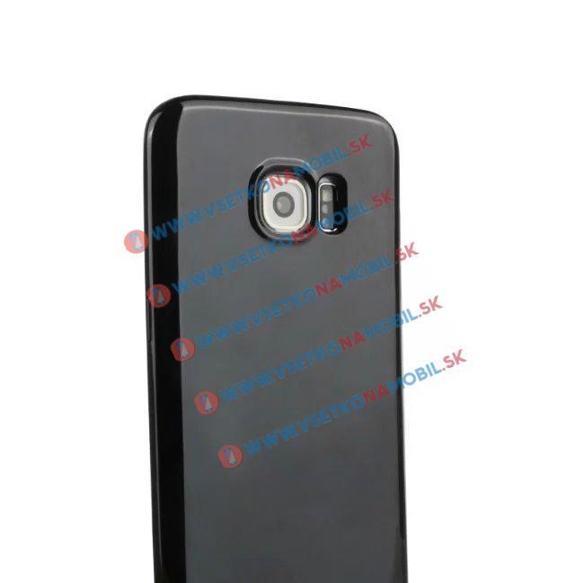 Silikónový obal Samsung Galaxy S7 edge čierny