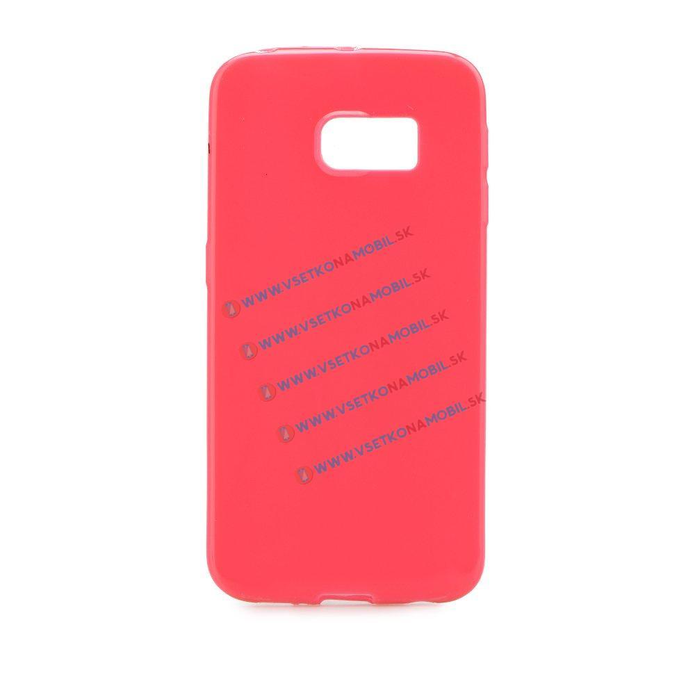 Silikónový obal Samsung Galaxy S6 Edge ružový