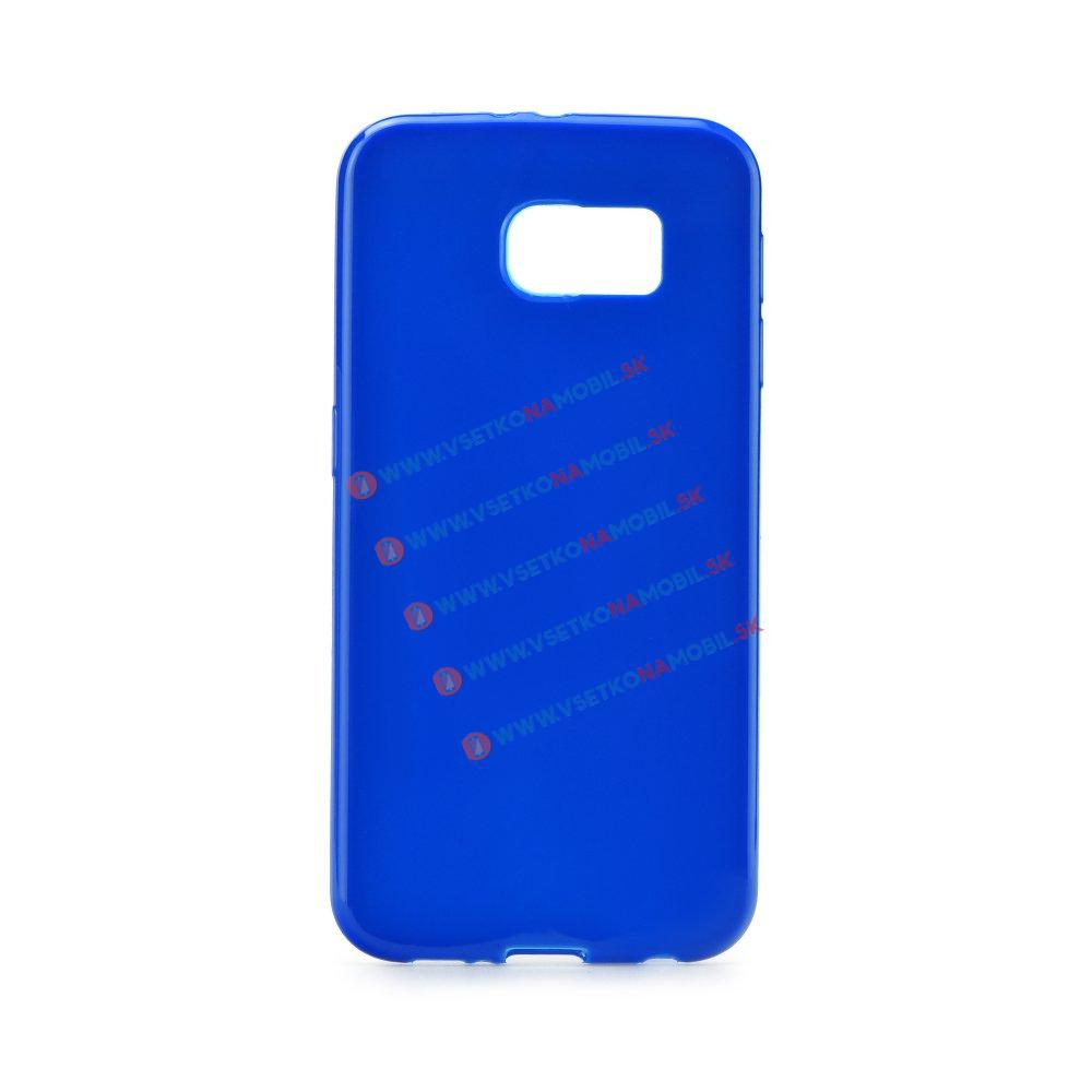 Silikónový obal Samsung Galaxy S6 Edge modrý