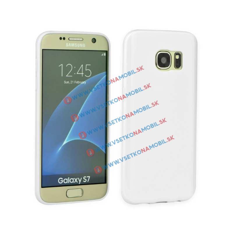 Silikonový obal Samsung Galaxy S7 bílý
