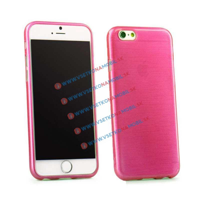 FORCELL Silikonový obal iPhone 6   6S růžový BRUSH d57f850b665