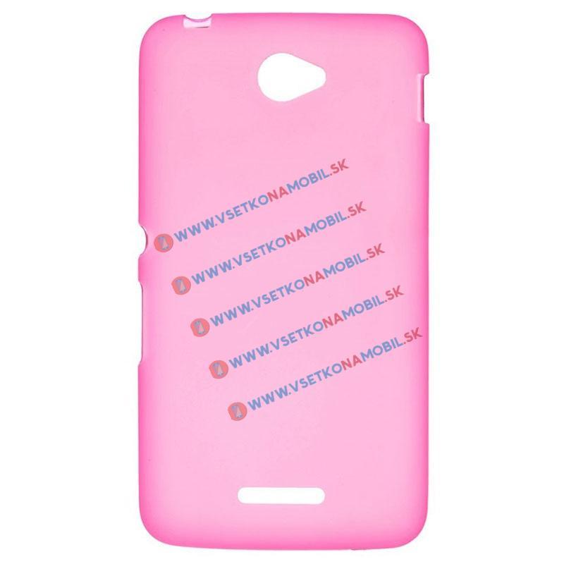 Silikonový obal Sony Xperia E4 růžový