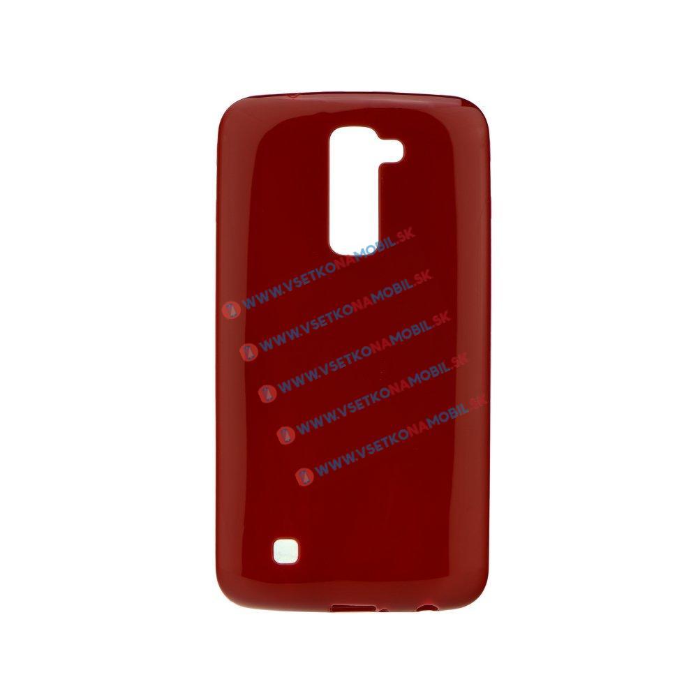 Silikonový obal LG K10 červený
