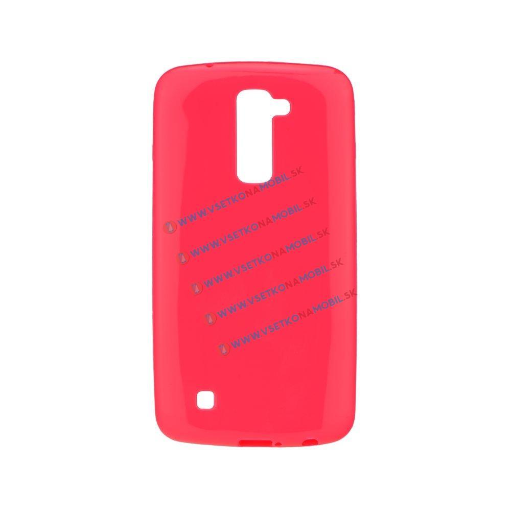 Silikonový obal LG K10 růžový