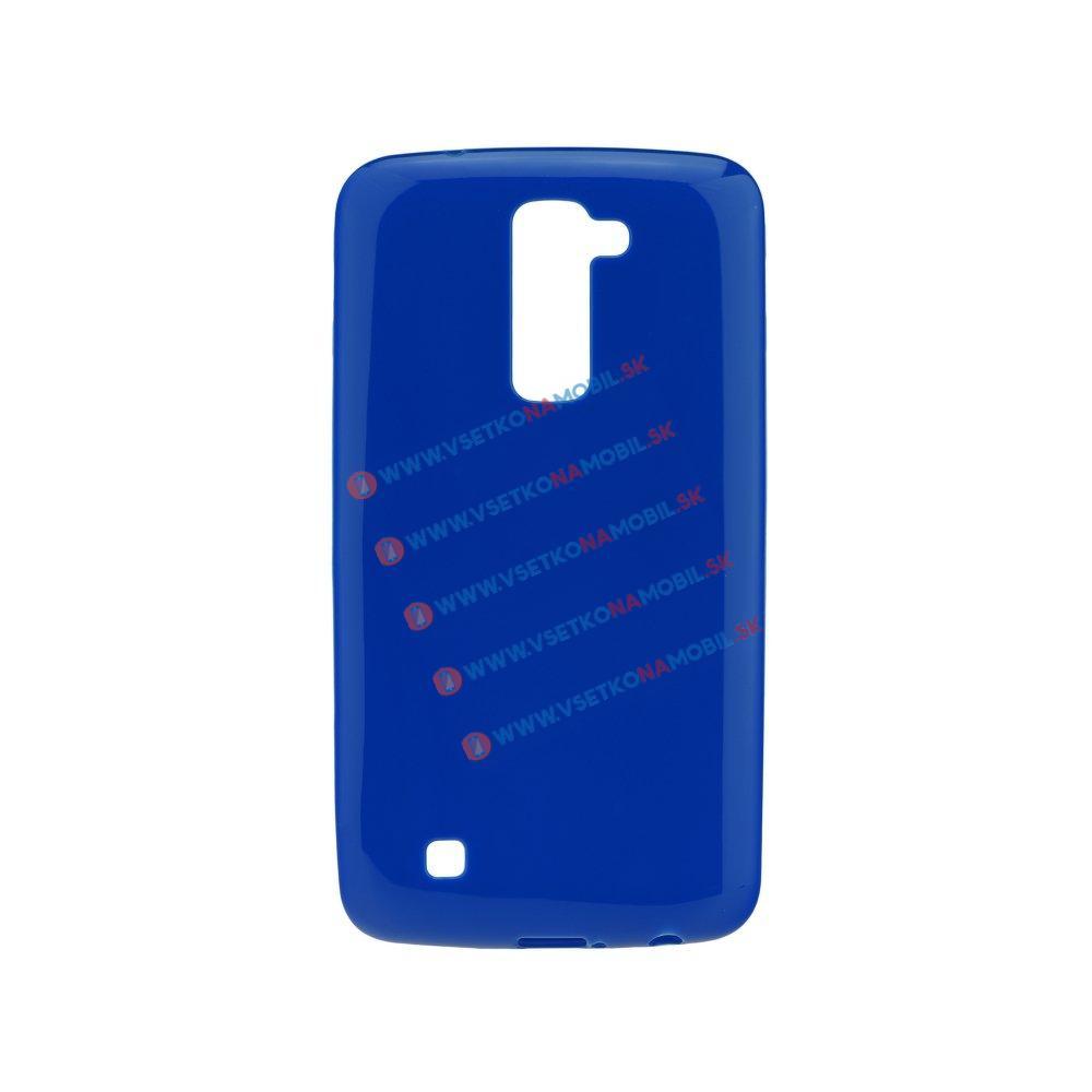 Silikonový obal LG K10 modrý