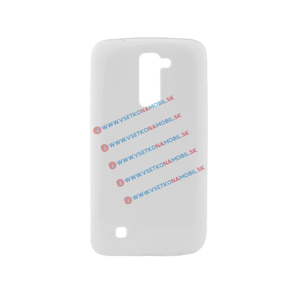 Silikonový obal LG K10 bílý