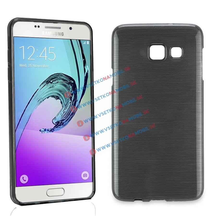 Silikónový obal Samsung Galaxy Grand Prime čierny