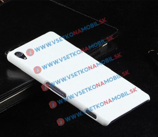 Sony Xperia Z3 plastový obal biely