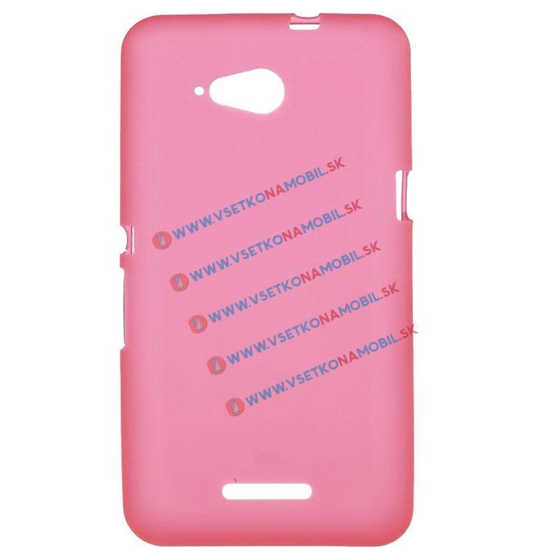Silikonový obal Sony Xperia E4g červený