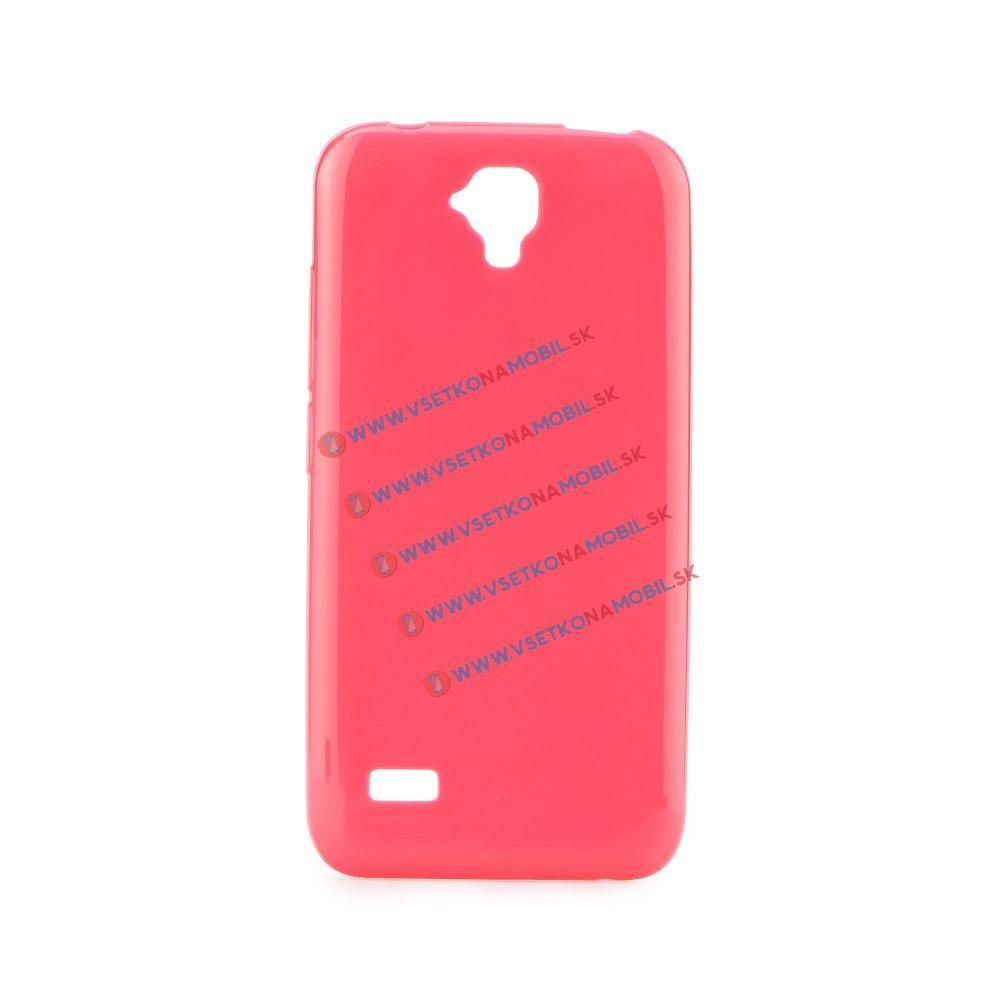 Silikónový obal Huawei Y5 ružový