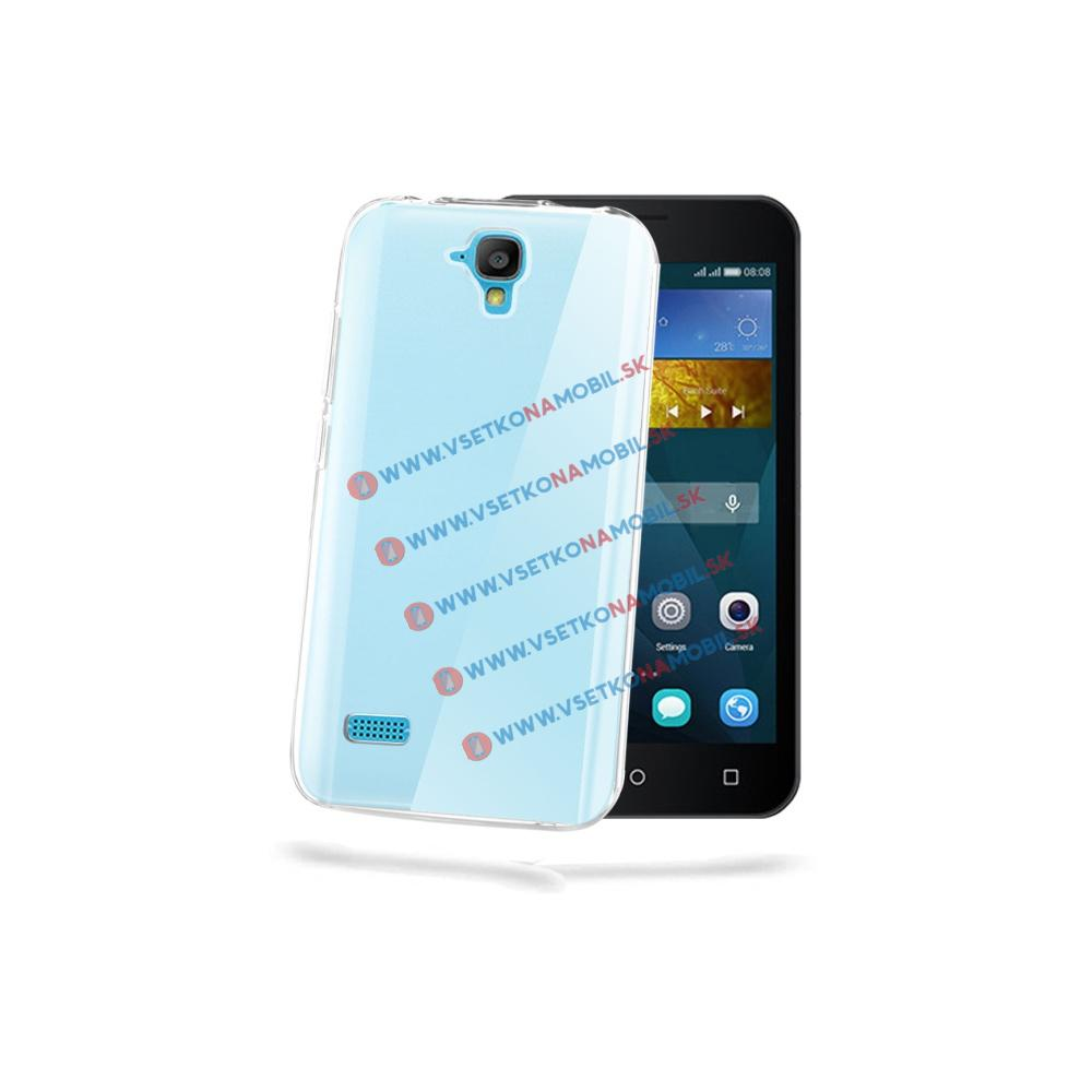 Silikónový obal Huawei Y5 priehľadný