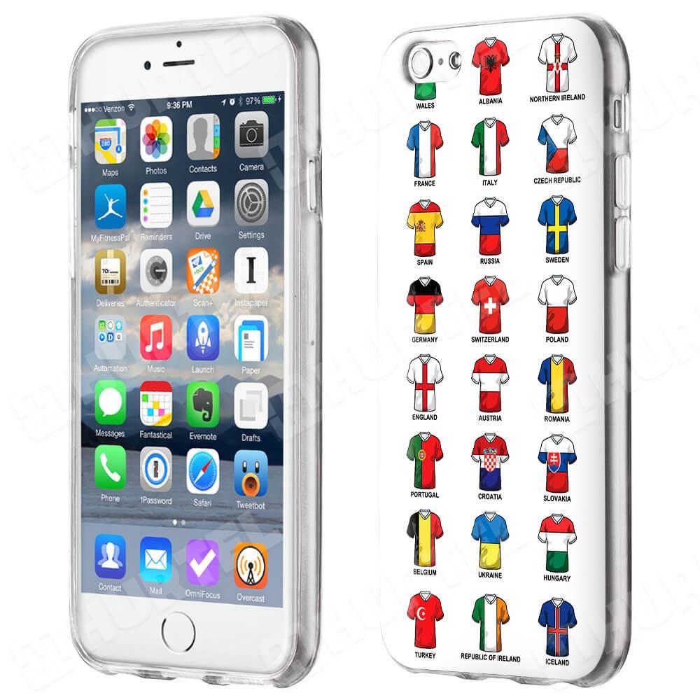 FORCELL ART Silikonový obal Apple iPhone 6   6S FOOTBALL SHIRTS ea510222ec3