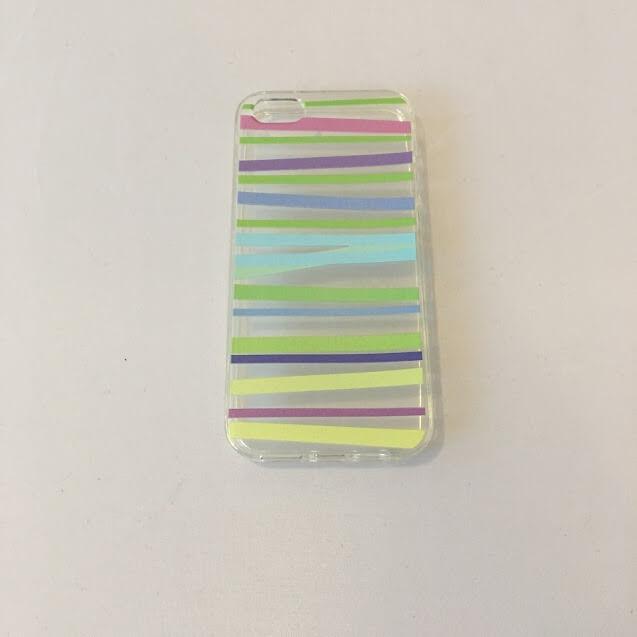 FORCELL Silikónový obal iPhone 5 / 5S / SE STRIPES