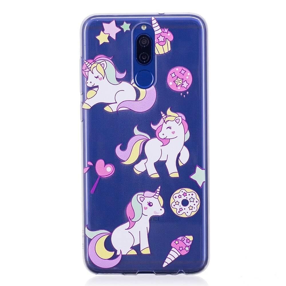 FORCELL ART TPU obal Huawei Mate 10 Lite Unicorns (035)