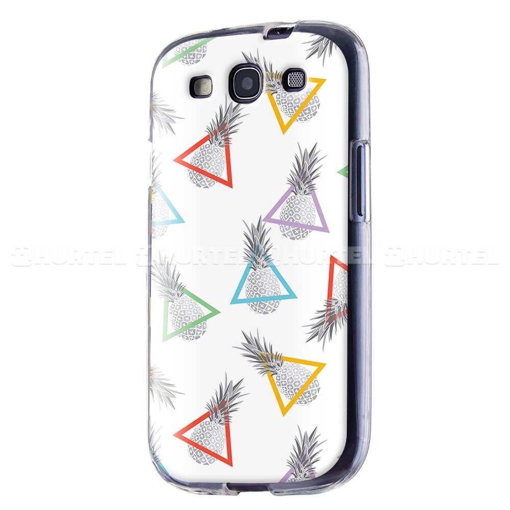 FORCELL ART TPU Silikónový obal Samsung Galaxy S3 PINEAPPLES