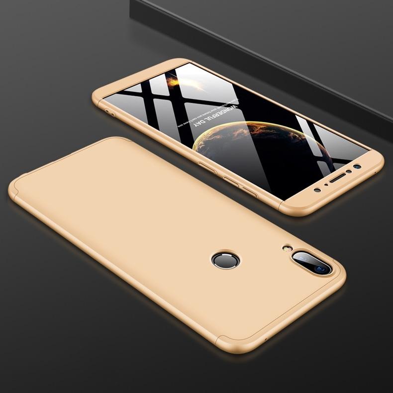 FORCELL 360 ° Ochranný obal Zenfone Max Pro (M1) ZB601KL / ZB602KL zlatý