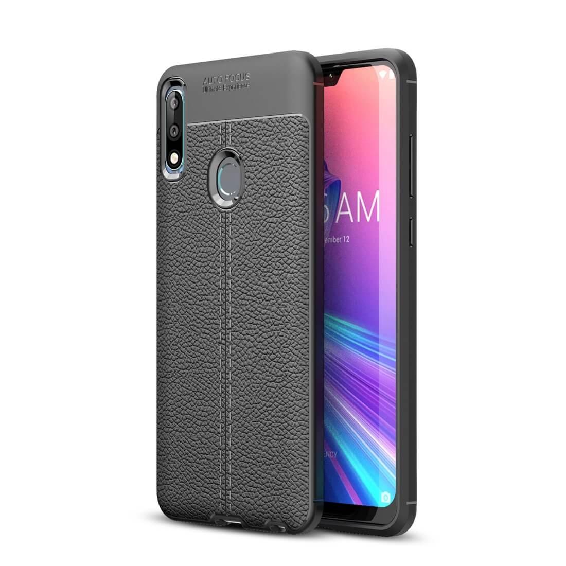 FORCELL PATTERN TPU kryt ASUS Zenfone Max Pro (M2) ZB631KL černý