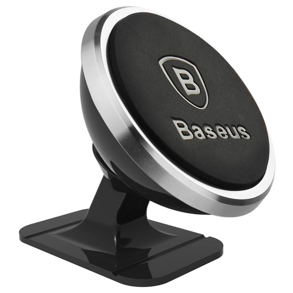 BASEUS P25 Magnetický držák do auta stříbrný