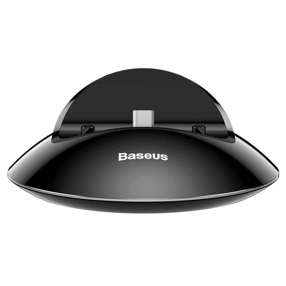 BASEUS NORTHERN Dokovací stanice (iPhone) černá