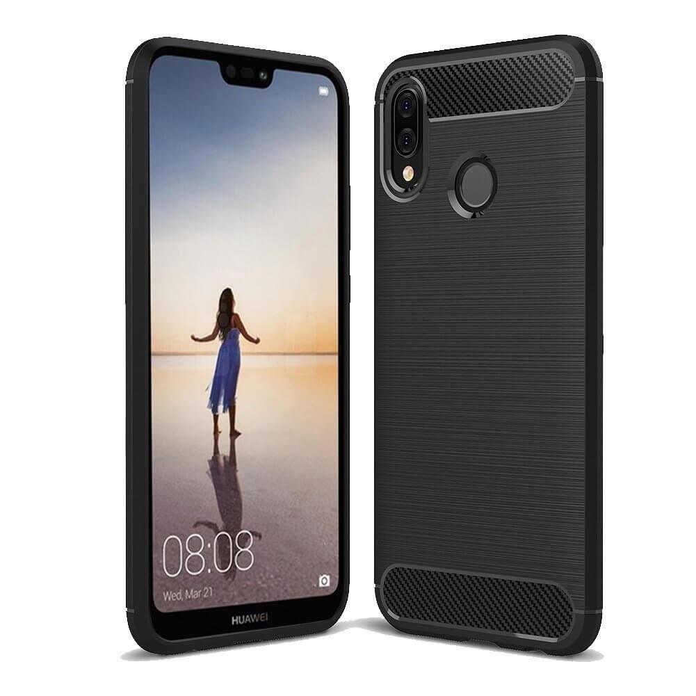 FORCELL FLEXI TPU Kryt Huawei P20 Lite černý