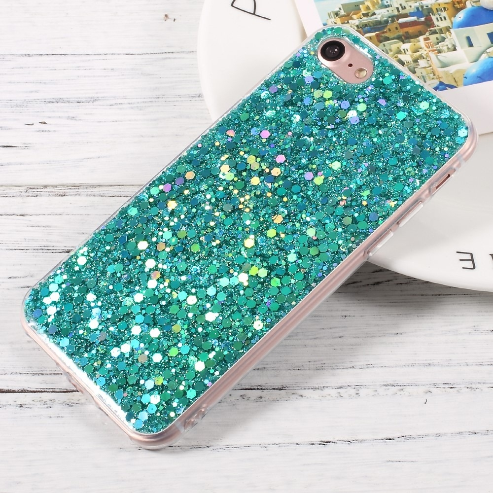 FORCELL BLING TPU obal Apple iPhone 7 / iPhone 8 zelený