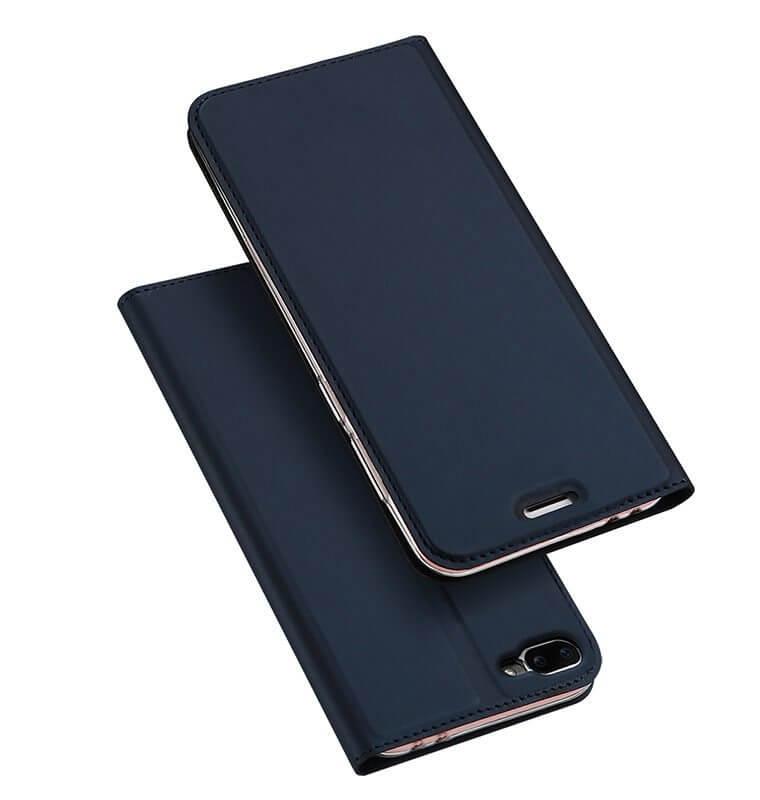 DUX Peňaženkové pouzdro Asus Zenfone 4 Max (ZC554KL) modré