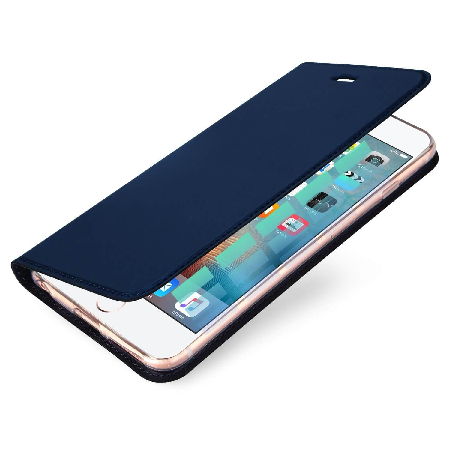 DUX Flipové púzdro Apple iPhone 7 Plus   8 Plus modré 06bc04fcac2