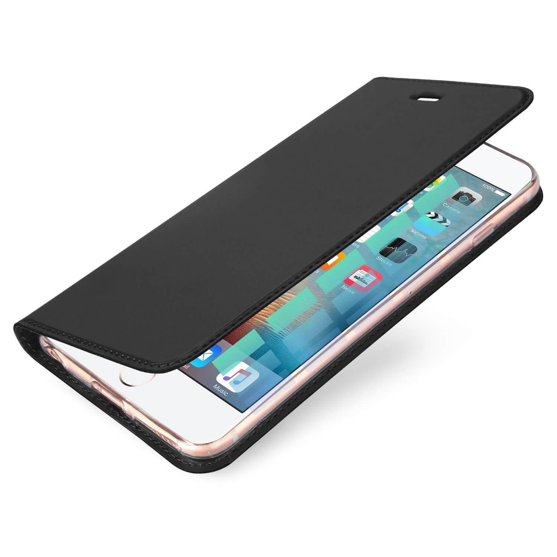 DUX Flipové púzdro Apple iPhone 6 / 6S šedé