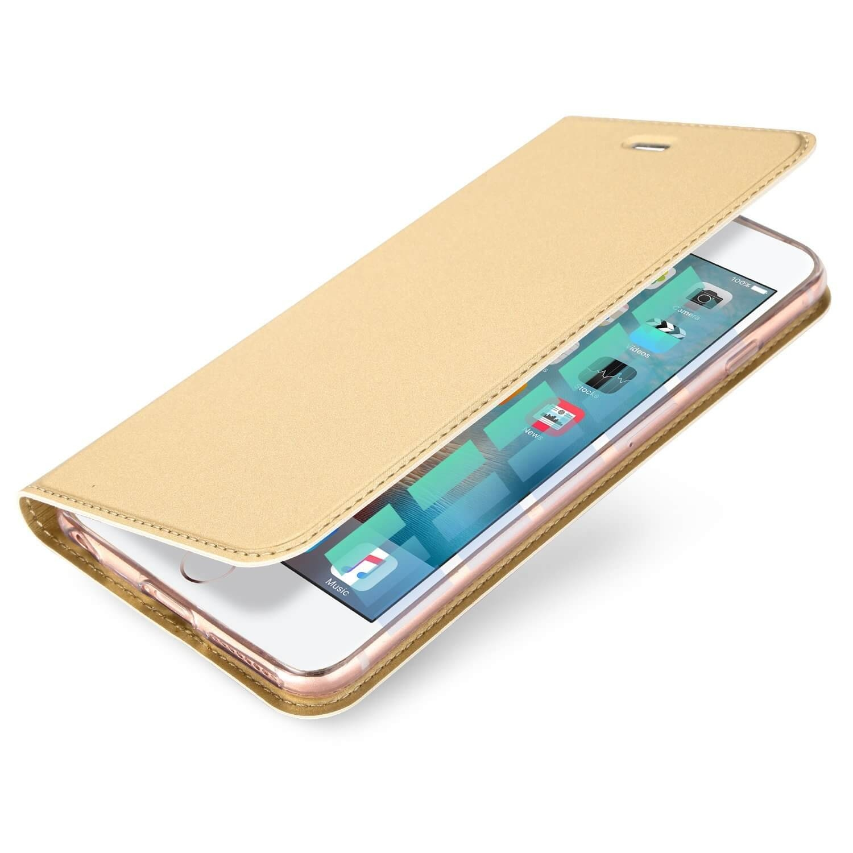 DUX Flipové púzdro Apple iPhone 6 / 6S zlaté