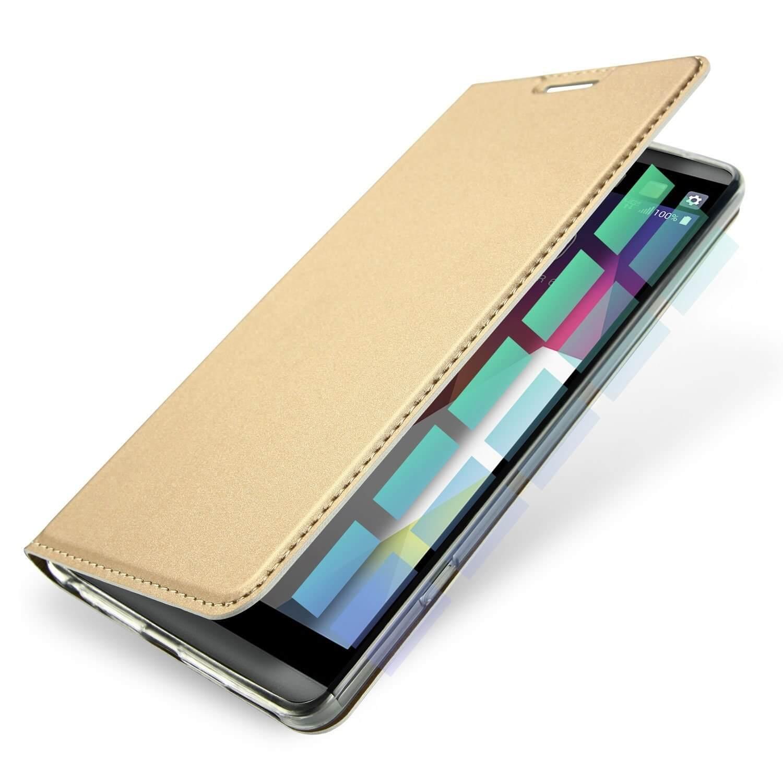 DUX flipové pouzdro LG G6 zlaté