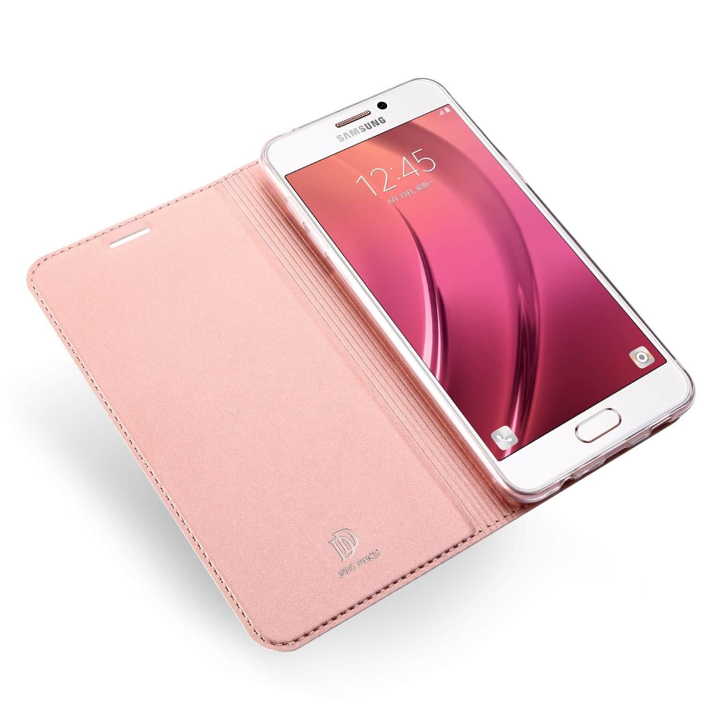 DUX flipové pouzdro Samsung Galaxy A3 2017 (A320) růžové