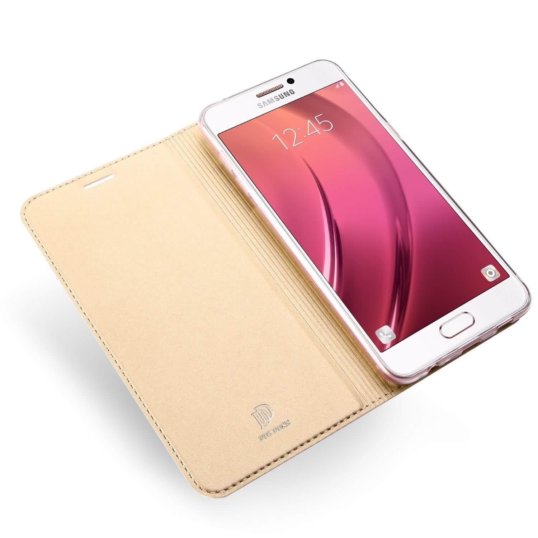 DUX flipové pouzdro Samsung Galaxy A3 2017 (A320) zlaté
