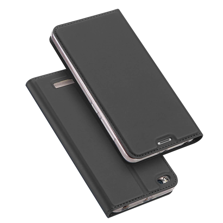 FORCELL DUX flipové pouzdro Xiaomi Redmi 4A šedé